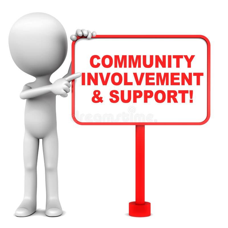 community illustration libre de droits