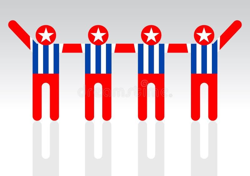Download Community Of American People, Silhouette Stock Illustration - Illustration of america, arms: 17702776