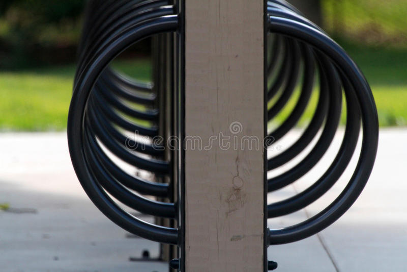 Community Bike Rack stock images