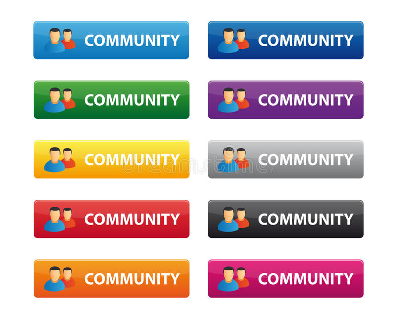 Download Community Buttons Stock Images - Image: 17939484