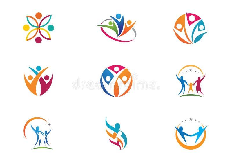Community Care Logo Stock Vector Illustration Of Husband 78590966