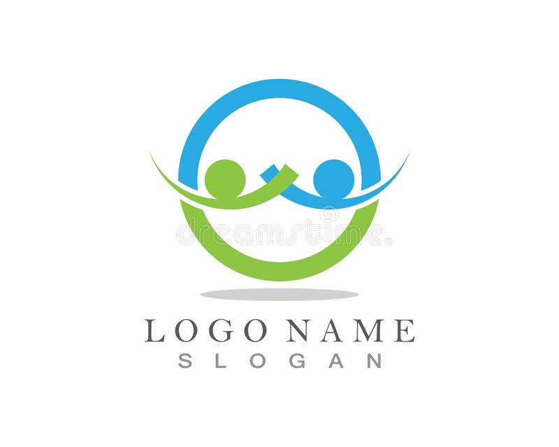 Community Care Logo and symbol template.  vector illustration