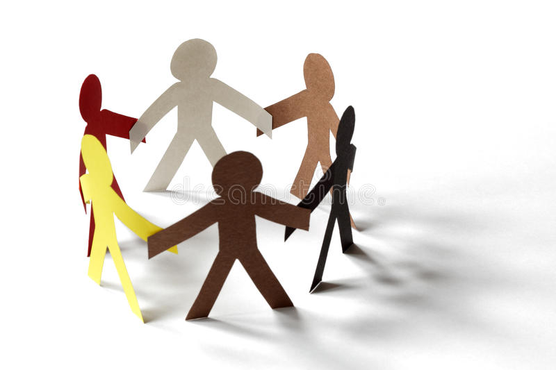 Community and friendship royalty free stock image