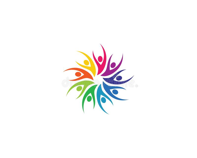 Community icon illustration vector illustration