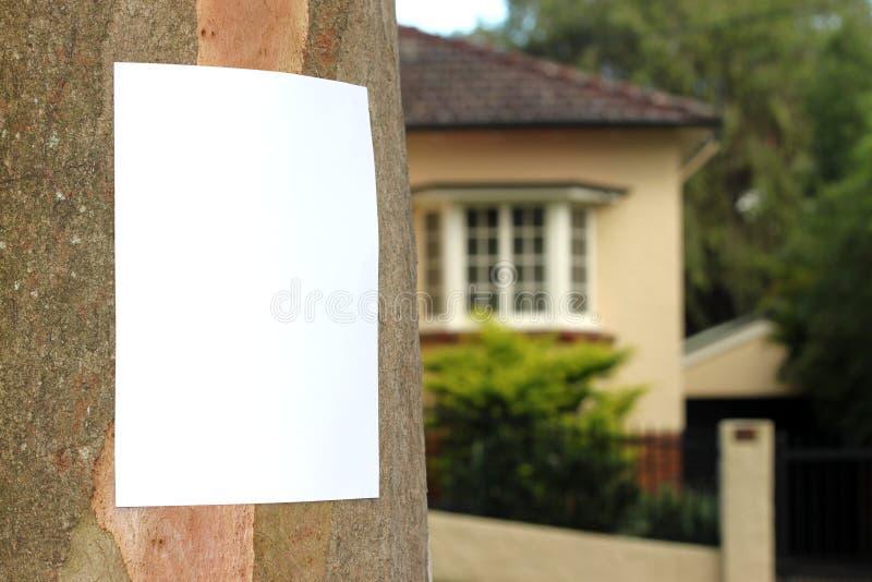 Community Notice royalty free stock image