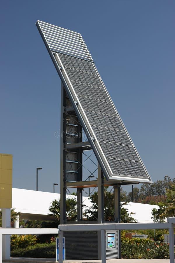 Community Solar Energy Station royalty free stock photo