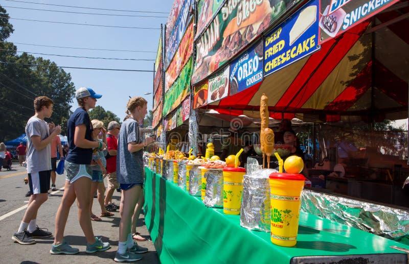 Community Street Festival royalty free stock photography