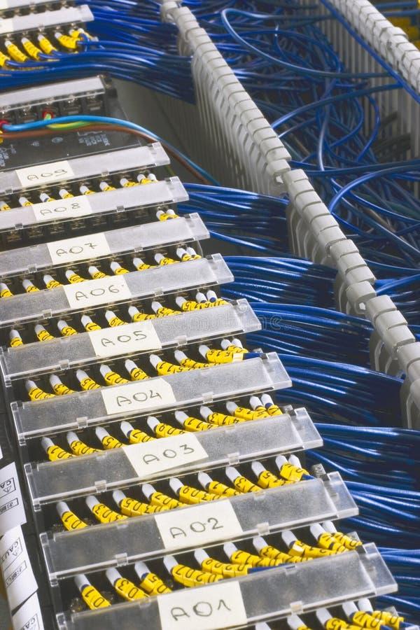 commutateurs automatiques dans le fusebox image stock