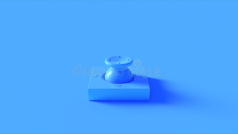Commutatore blu del bottone royalty illustrazione gratis