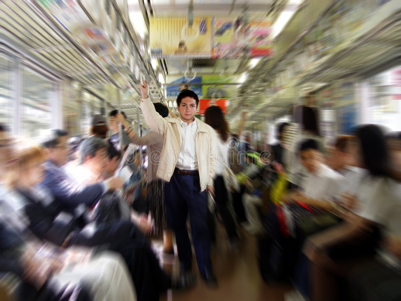 Download Commute stock image. Image of dynamic, commuter, movement - 41821