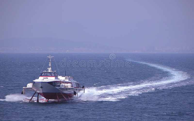 Commuter ship stock images