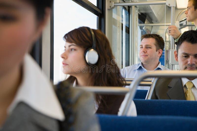 commuters στοκ φωτογραφία
