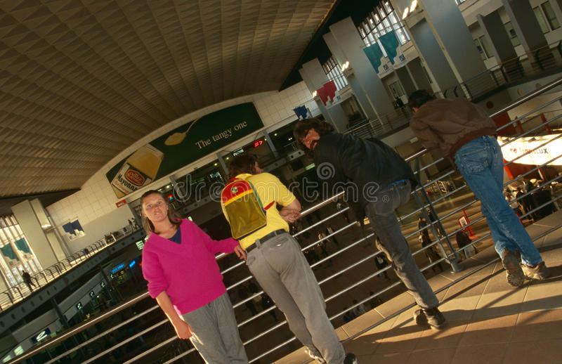 Download Commuters At A Johannesburg Station Editorial Photo - Image: 25575411