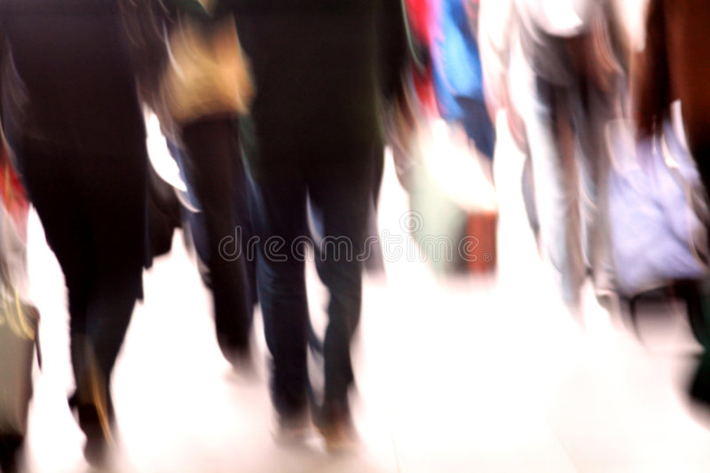 Download Commuters rush hour stock photo. Image of haste, activity - 5962138