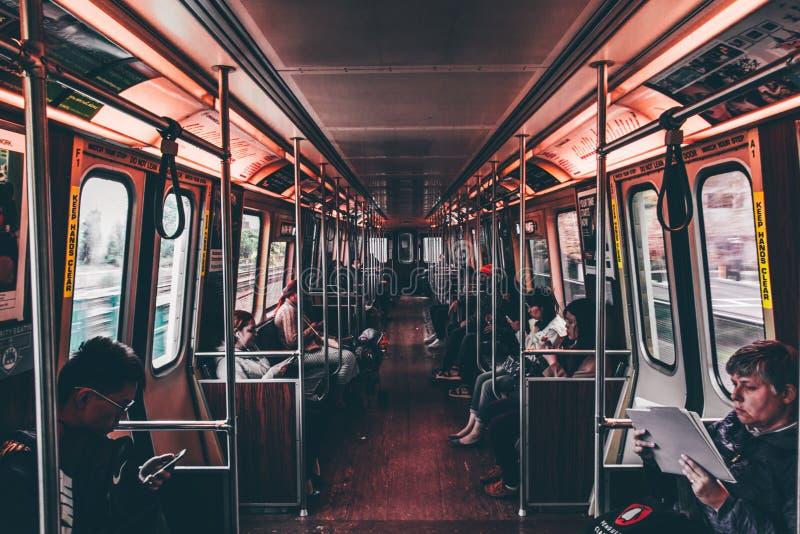 Commuters Sat On A Train Free Public Domain Cc0 Image