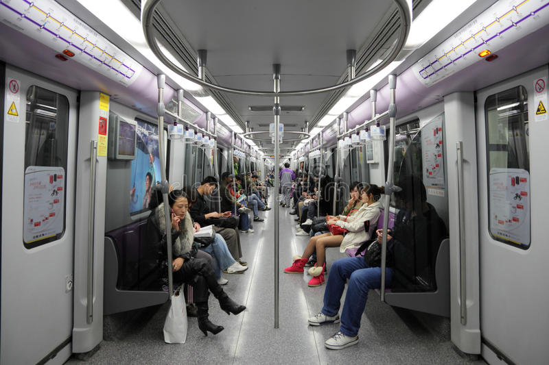 Download Commuters In Shanghai Metro Editorial Photo - Image of circle, public: 17486191