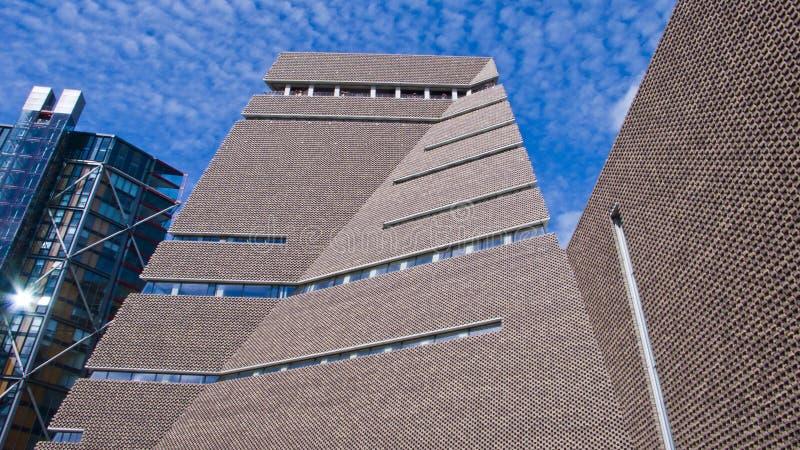 Commutez la Chambre, nouvelle aile de Tate Modern Art Gallery, Londres, Engla images stock