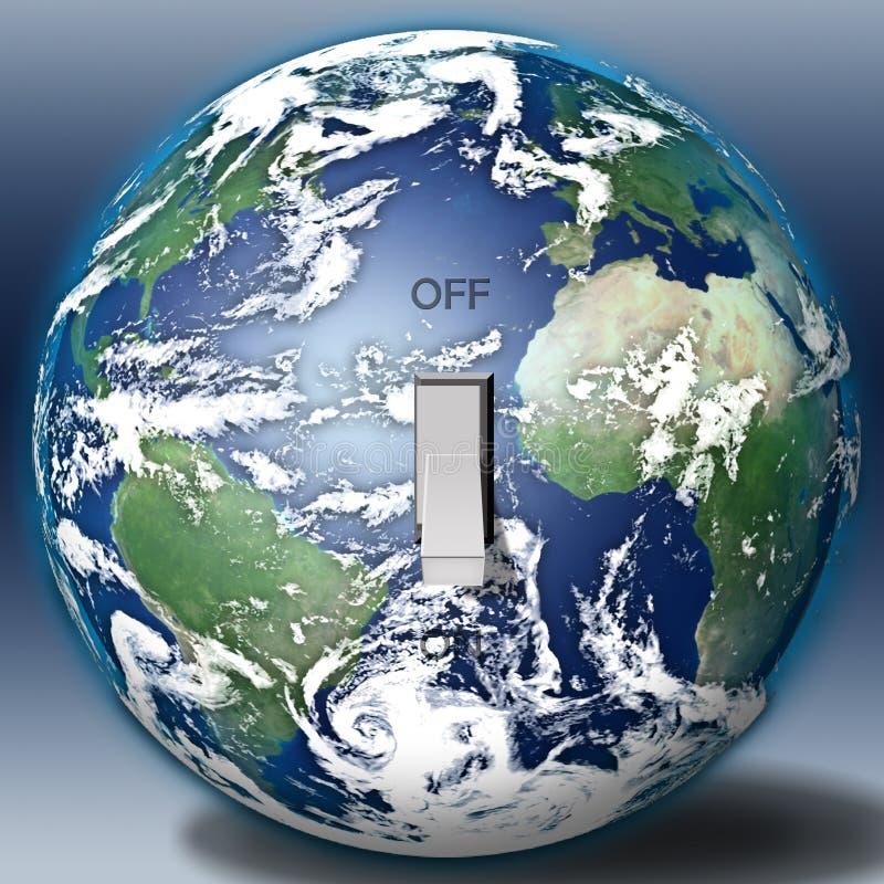 Commutez la terre illustration libre de droits