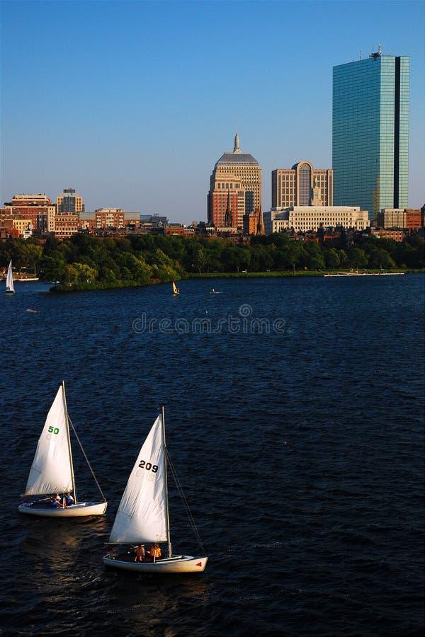 Commutyroeien, Boston royalty-vrije stock foto