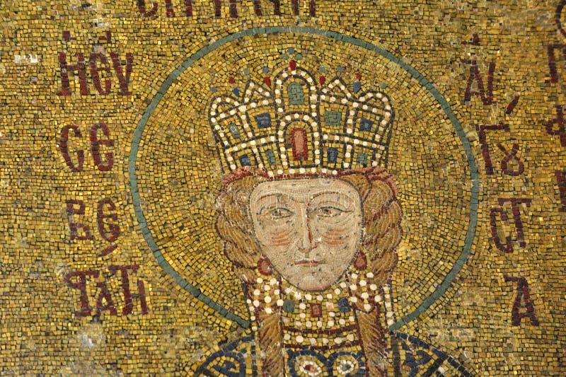 comnenus hagia Istanbul mozaik sophia zdjęcia royalty free