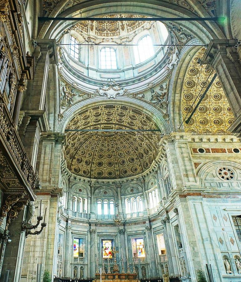 Como Altar and ceiling stock photos