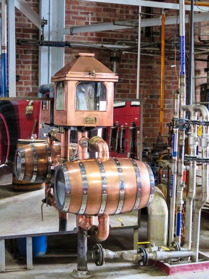 Como fazer Kentucky Bourbon fotografia de stock royalty free