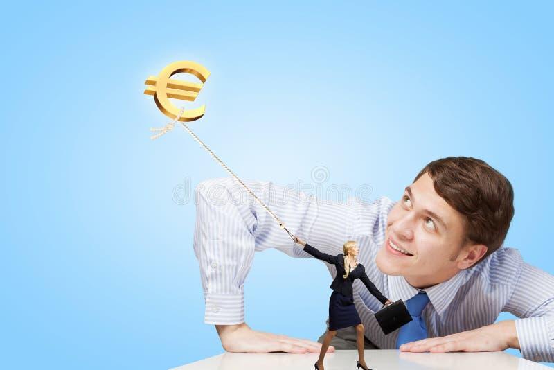 Como fazer o dinheiro imagens de stock