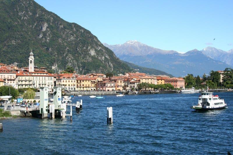 como Italy jezioro obrazy stock