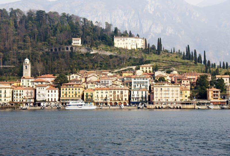 Como lake. The village of Bellagio in Como lake - Italy royalty free stock image