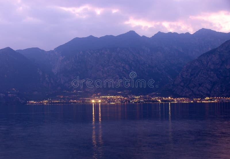 Como Lake, Italia fotografia stock libera da diritti
