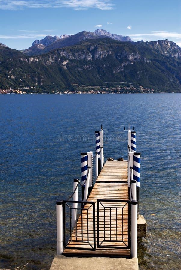 Como Lake - Italy stock image