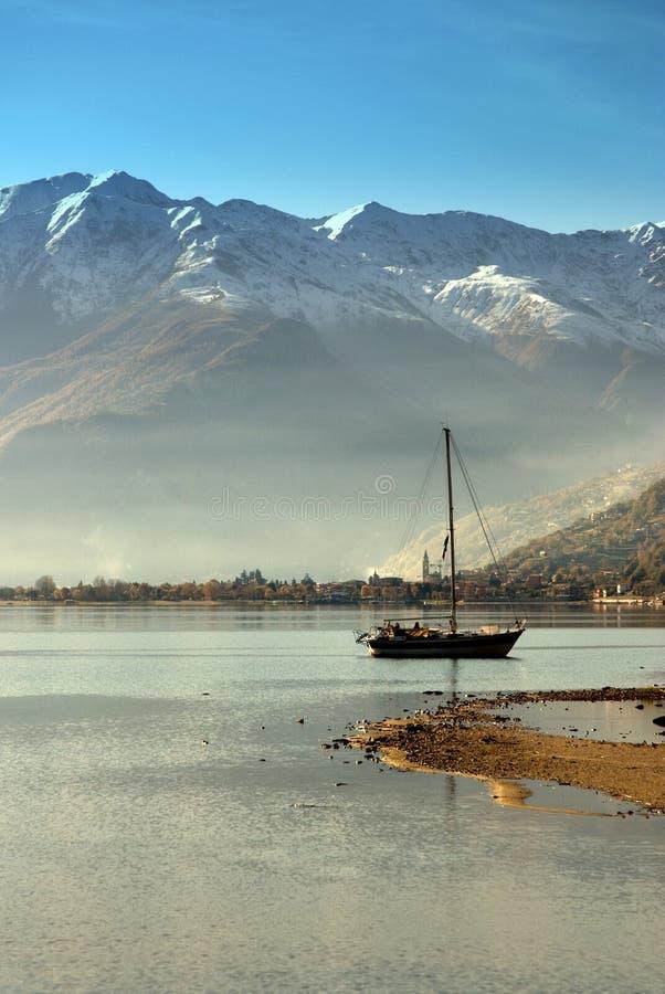Como Lake - Italy stock photo