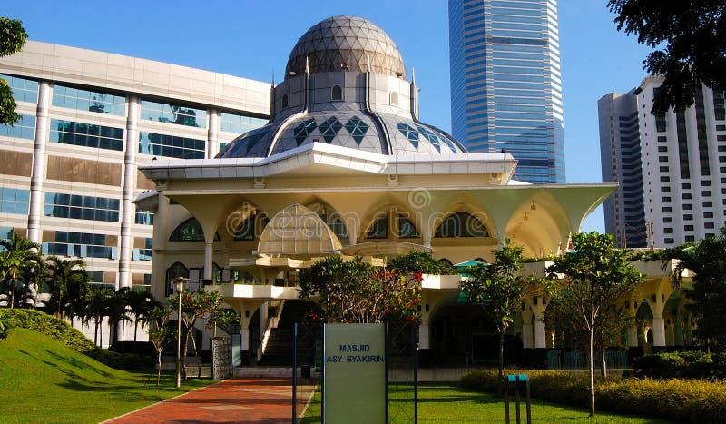 Como a mesquita de Syakirin fotografia de stock royalty free