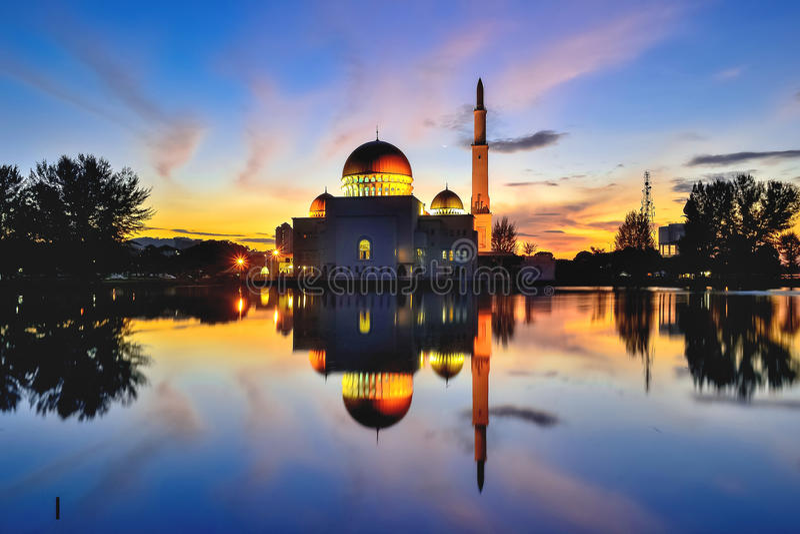 Como mezquita del salam imágenes de archivo libres de regalías