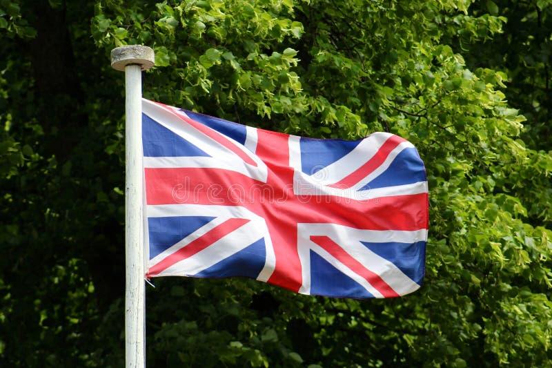 Como não voar a bandeira de união imagem de stock