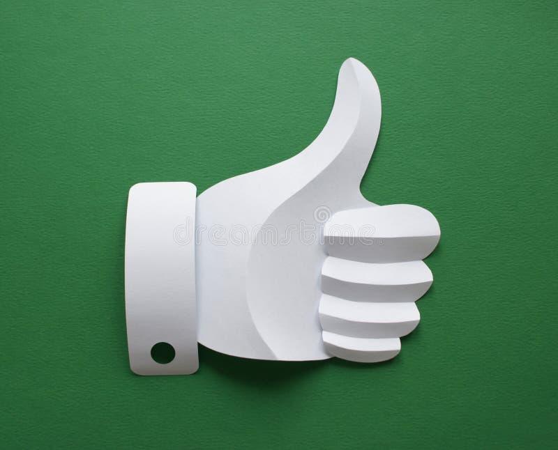 Como no verde fotografia de stock