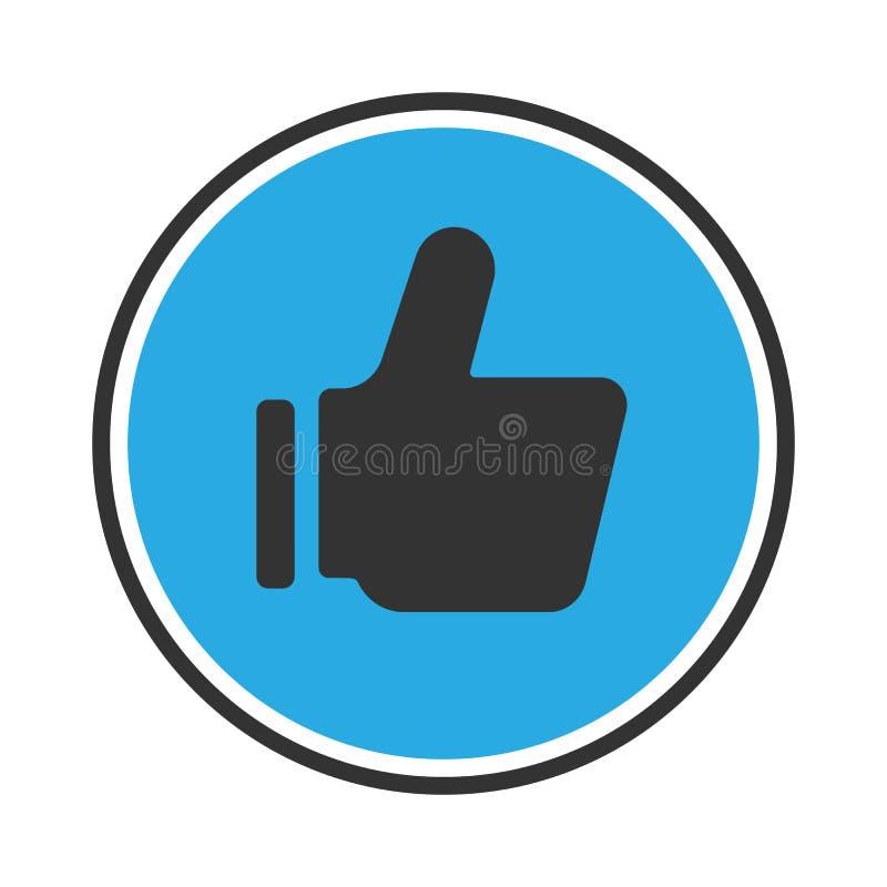 Como o ícone ilustração do vetor