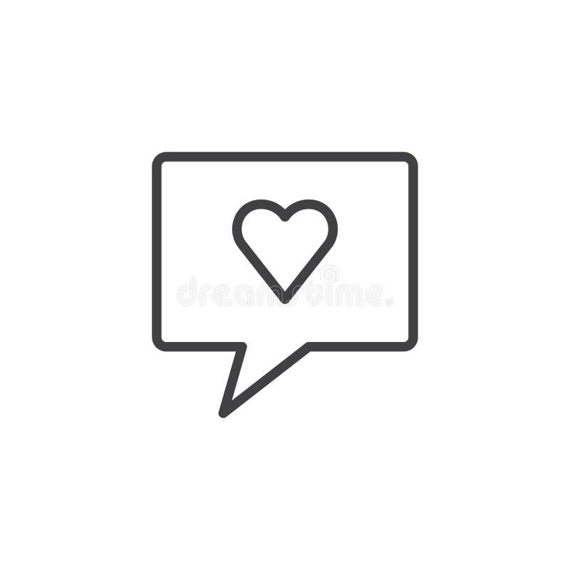 Como o ícone do esboço ilustração stock