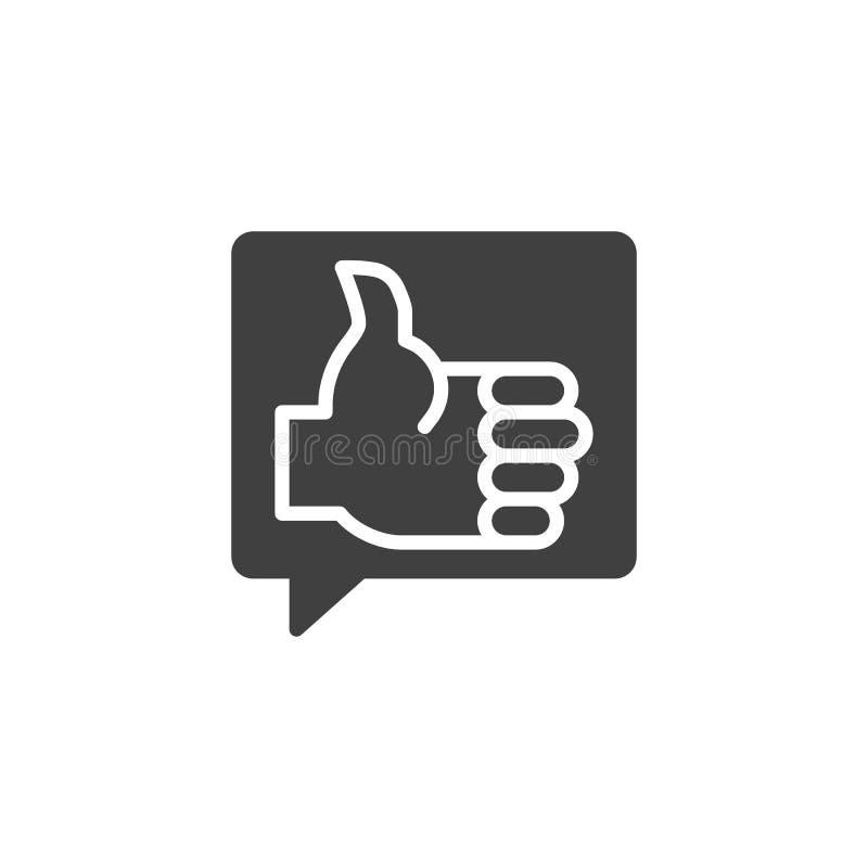 Como o ?cone do vetor do feedback ilustração royalty free