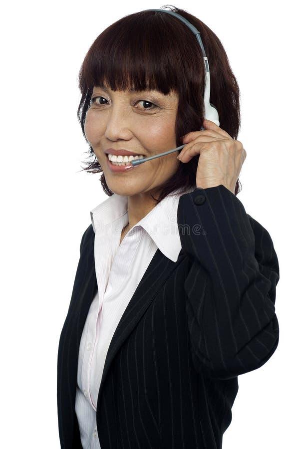 Download Como Posso Eu O Ajudar Hoje? Imagem de Stock - Imagem de consultante, assistente: 26509827