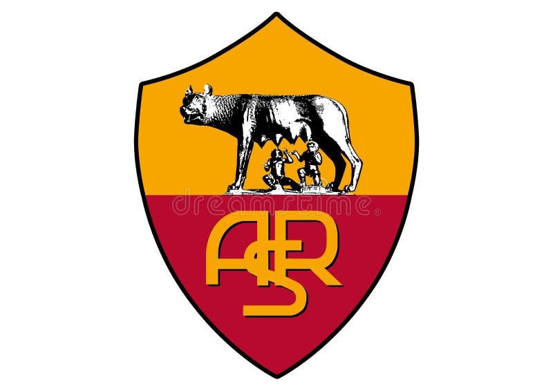 COMO Roma Logo ilustração royalty free