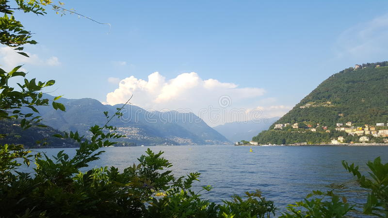 Como& x27;s Lake stock images