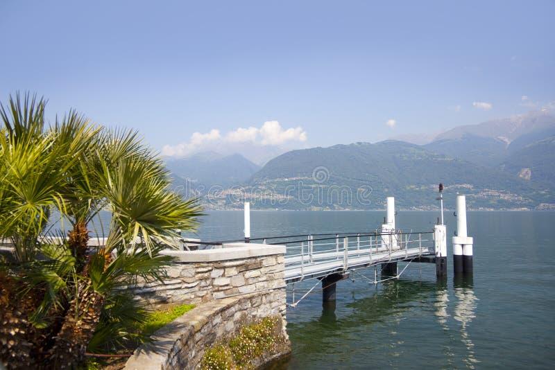 Como sjö fotografering för bildbyråer