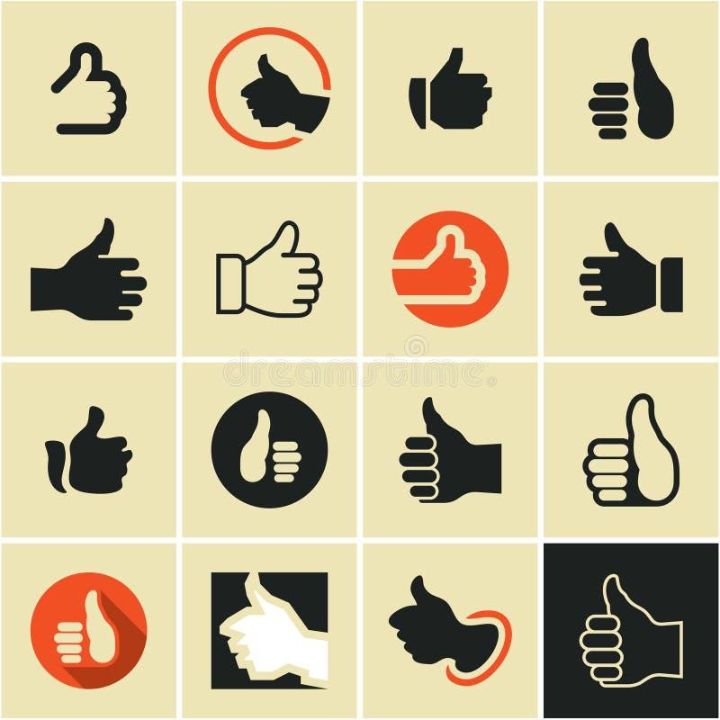 como Como a tecla Como o ícone Como o logotipo ilustração royalty free