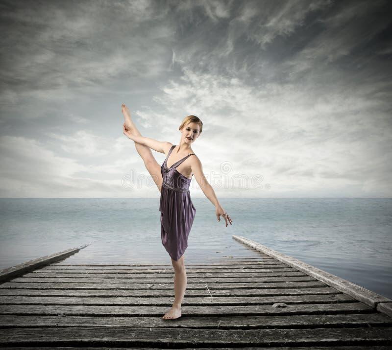 Como un bailarín fotografía de archivo