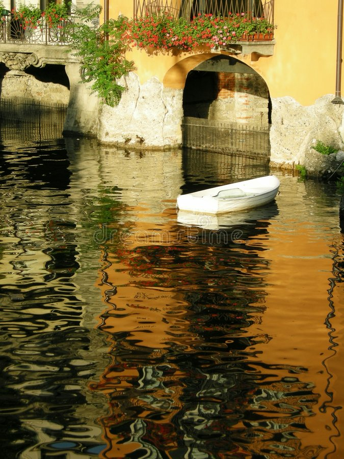 como Włoch romantyczna miłość zdjęcia stock