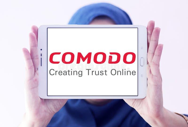 Comodo groupent le logo photographie stock libre de droits