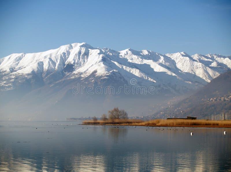 comoitaly lake arkivbilder