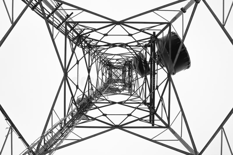 Comunication tower stock photos