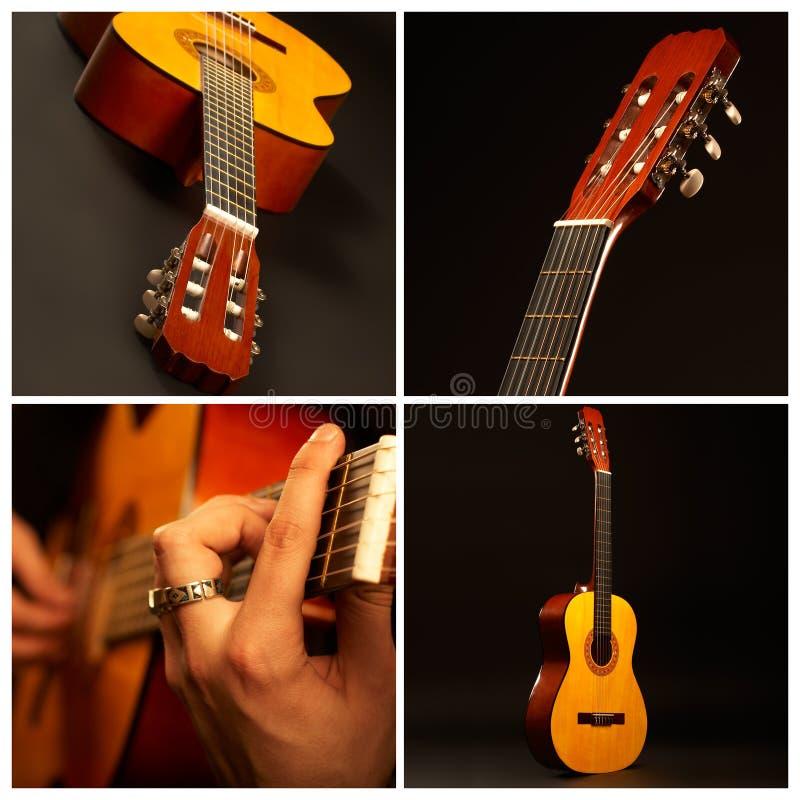 Comp de la guitarra foto de archivo libre de regalías
